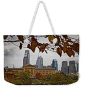 The Leaves Of Philly Weekender Tote Bag