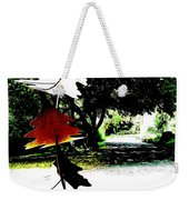 The Leaves Will Soon Start To Fall  Weekender Tote Bag