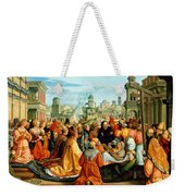 The Legend Of The Holy Cross Weekender Tote Bag
