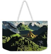 The Legendary South American Golden Weekender Tote Bag