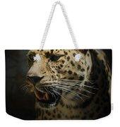 The Leopard Weekender Tote Bag