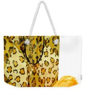 The Leopard Gift Bag Weekender Tote Bag by Diana Angstadt