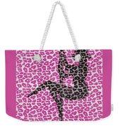 The Leopard Stripper Weekender Tote Bag