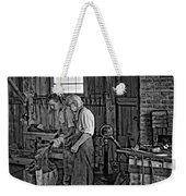 The Lesson Monochrome Weekender Tote Bag