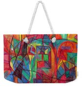 The Letter Mem Weekender Tote Bag