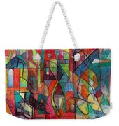 The Letter Zayin Weekender Tote Bag