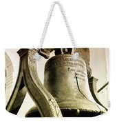 The Liberty Bell Weekender Tote Bag by Bill Cannon