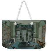 The Library, C.1820, Battersea Rise Weekender Tote Bag by English School