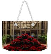 The Library Of Congress Madison Building At Christmas  Weekender Tote Bag