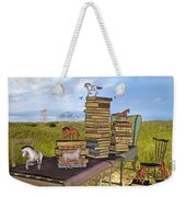 The Library Your Local Treasure Weekender Tote Bag