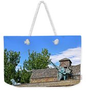 The Life Of An Elephant Weekender Tote Bag
