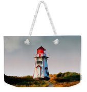 The Light At Covehead Harbour Weekender Tote Bag