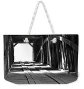 The Light At The End Of The Bridge Weekender Tote Bag