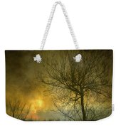 The Light Escapes Through The Clouds Weekender Tote Bag by Guido Montanes Castillo