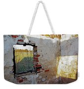 The Light Knows Not Weekender Tote Bag