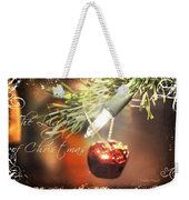 The Light Of Christmas Weekender Tote Bag