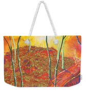 The Light That Calls Me Weekender Tote Bag