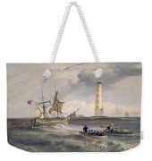 The Lighthouse At Cape Chersonese Weekender Tote Bag