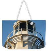The Lighthouse At Mevagissy Weekender Tote Bag