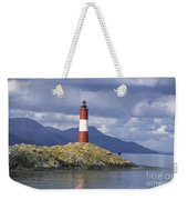 The Lighthouse At The End Of The World Weekender Tote Bag