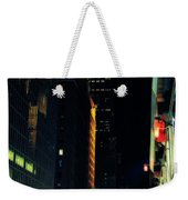 The Lights Of New York City Weekender Tote Bag