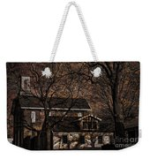 The Lights Went Out In Platte Weekender Tote Bag