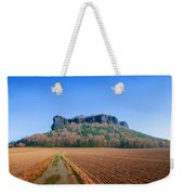 The Lilienstein On An Autumn Morning Weekender Tote Bag