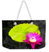 The Lily Pad And Flower... Weekender Tote Bag
