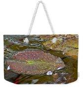 The Lily Pad Weekender Tote Bag