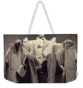 The Lincoln Memorial Weekender Tote Bag by Daniel Chester French