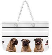 The Line Up Weekender Tote Bag by Edward Fielding