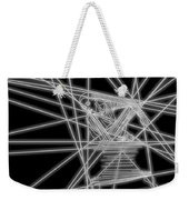 The Lines Of Martha Graham L Bw Weekender Tote Bag