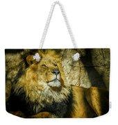 The Lion Weekender Tote Bag