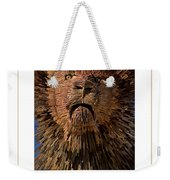 The Lion Poster Weekender Tote Bag
