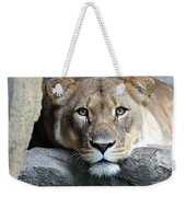 The Lion Queen Weekender Tote Bag