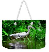 The Little Blue Heron Weekender Tote Bag