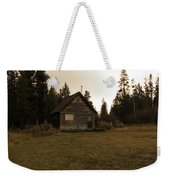 The Little Cabin In The Woods Weekender Tote Bag