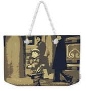 The Little Chinese Soldier Weekender Tote Bag