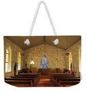 The Little Church Of La Villita Weekender Tote Bag