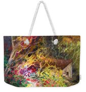 The Little House In The Woods Weekender Tote Bag