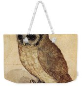 The Little Owl 1508 Weekender Tote Bag