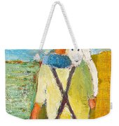 The Little Puppy Weekender Tote Bag