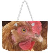 The Little Red Chicken Weekender Tote Bag