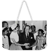 The Little Rock Nine Weekender Tote Bag by Benjamin Yeager