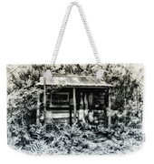 The Log Cabin Weekender Tote Bag