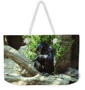 The Lone Chimp Weekender Tote Bag