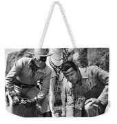 The Lone Ranger And Tonto Weekender Tote Bag