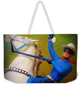The Lone Ranger Rides Again Weekender Tote Bag