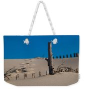 The Lonely Driftwood Weekender Tote Bag