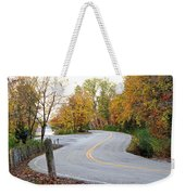 The Long And Winding Road Weekender Tote Bag